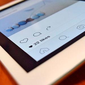 publicitat a les xarxes socials com instagram